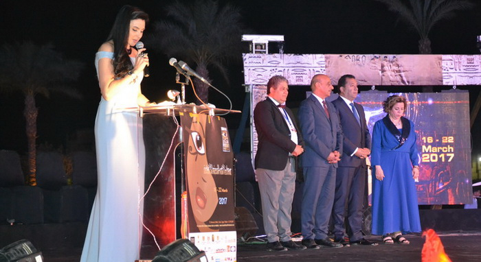 The Opening of the 7th edition of Luxor African film festival